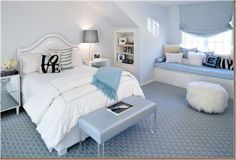Design Inspiration of Interior,room,and kitchen: Glamour Teenage Girl Room Ideas