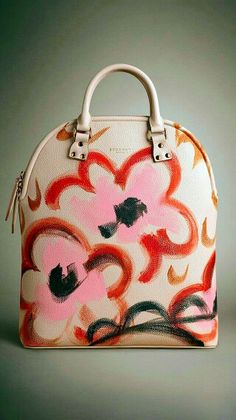Burberry Prorsum pink and red bag