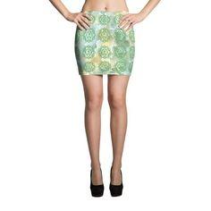 4th Heart Chakra Mini Skirt