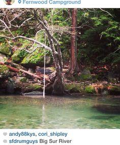 Fernwood Campground in Big Sur