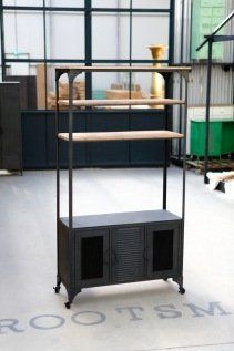 Industriele Kast Design.Tv Kast Hoog Design Industrieel New Vintage Interrieur