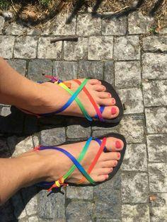 822cd98de6aa5 87 žádaných obrázků z nástěnky DIY huarache sandals and other ...