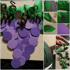 Uvas de goma eva 4 Kids, Diy For Kids, Grapes Costume, Preschool Crafts, School Projects, Diy Room Decor, Fancy Dress, Costumes, Halloween
