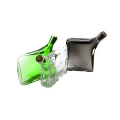 Hand-blown Glass Flask by Esque