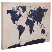 Found it at Joss & Main - World Map Canvas Print