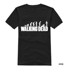 Summer Famous Personalized  The Walking Dead Printed Men T Shirt Short Sleeve Top Fashion The Walking Dead t shirt-in T-Shirts from Men's Clothing & Accessories on http://totallyteeshack.blogspot.co.uk/