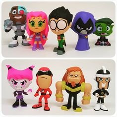 Teen Titans Go, Funko Pop, Clay Mugs, Biscuit, Mystery Minis, Diy Molding, Funny Love, Party Games, Cartoon Network