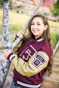 Pricing & info on senior /graduate portrait photo sessions in Las Vegas. Photographer for high school senior photos. Photographer for graduation photos. Football Senior Pictures, Senior Photos, Senior Jackets, Picture Ideas, Photo Ideas, Letterman Jackets, Grad Pics, Posing Guide, Girl Photography Poses