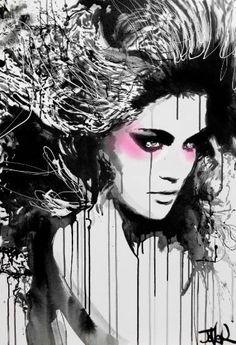 """Saatchi Art Artist Loui Jover; Painting, """"spark"""" #art"""
