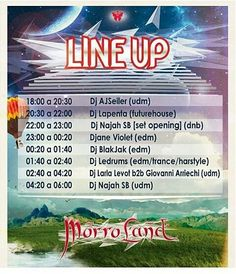 HOY HOY HOY HOY HOY San Juan de los Morros  Aquí el LineUp de los DJs  en este festival!! #MorroLand  #elrenacimiento  El festival de musica electrónica mas esperado por toda la región central del país!! @morroland_vzla  Sigue nuestro paso con el #PDJsEnMorroland  y pide tu foto a nuestro #Staff  www.PortalDJs.com.ve #SoloParaRumberos