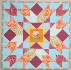 Cosmic Burst Quilt Along by Distant Pickles