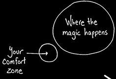 outside of comfort zone