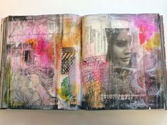 REALLY love this girl's work: while we cry_journal_bybun