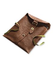 Treat your iPad to this soft but durable tanned leather case.