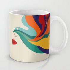 This is lovely. :: Love Message Mug