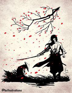 Samurai warrior ink artwork.  Drawn for Inktober challenge.  #love #drawings #sketching #inkart #characterdesign #pen #manga #myart #inked #inking #inktoberchallenge #inktoberprompts #arts #penandink #samurai #tattooart #japaneseart Samurai Drawing, Warrior Drawing, Samurai Artwork, Art Sketches, Art Drawings, Skeleton Art, Samurai Warrior, Fantasy Illustration, Pen Art