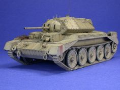 1/48 scale Crusader Mk. I by Pat Johnston