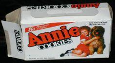 Vintage Little Orphan Annie Sandy Cookies Box Only Movie Aileen Quinn RARE 1982 | eBay