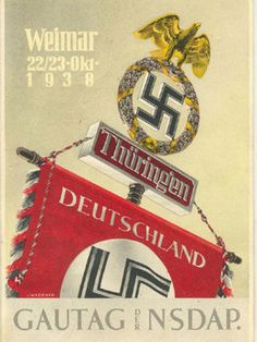 German WW2. The Nazi German standerd Banner.