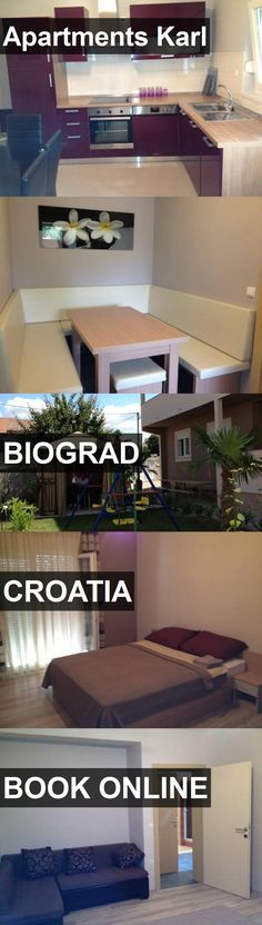 Apartments Karl in Biograd, Croatia. For more information, photos, reviews and best prices please follow the link. #Croatia #Biograd #travel #vacation #apartment