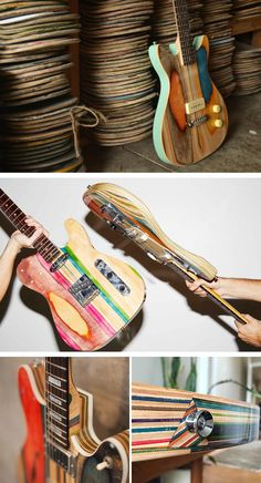 Self-taught woodworker and industrial design student, Nick Pourfard of Prisma Guitars, designs and builds one-of-a-kind guitars out of his workshop in San Francisco, California.