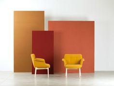 Desaturated tones inspired by Giorgio Morandi's art Display Design, Booth Design, Wall Design, Studio Interior, Interior Design, Design Interiors, Photography Studio Setup, Camera Photography, Stage Set Design