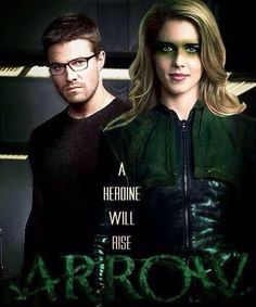 Felicity Smoak and oliver queen! this is <3