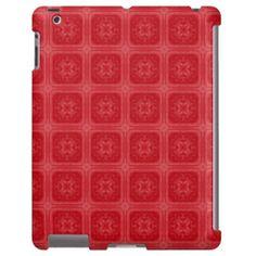 Red stylish wood pattern