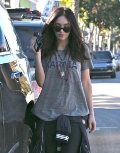 Pin for Later: Can't-Miss Celebrity Pics!  Megan Fox stepped out in LA for a Monday lunch outing.