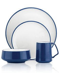 The cup and bowl remind me of my grandmothers old dishes. Dansk Dinnerware, Kobenstyle Collection