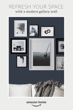 Refresh your space! Create a modern gallery wall. Shop Amazon Home.