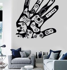 Wall Stickers Vinyl Decal Video Games Gamer Xbox Playstation Decor (z2213)