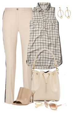 """""""Chloe"""" by lisa-holt ❤ liked on Polyvore featuring Karl Lagerfeld, Abercrombie & Fitch, Yves Saint Laurent, Michael Kors and Chloé"""