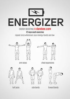 Energizer Workout
