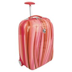 I pinned this Heys USA Xcase Carry-on Spinner in Red Flow from the Preppy Jetsetter event at Joss and Main! $60Pinned by #conceptcandieinteriors #girly