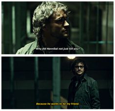 After everything they've been through, Hannibal still needs Will. Hannibal 2x7 Yakimono