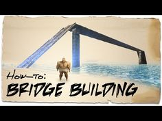 How to build a bridge over water | ARK: Survival Evolved | Building Tips - YouTube