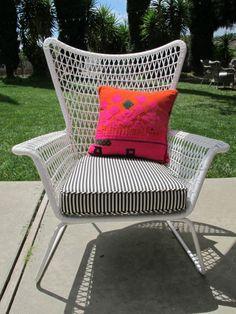 those ikea chairs again, with custom cushions