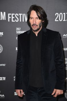 "Keanu Reeves attends the ""To The Bone"" Premiere on day 4 of the 2017 Sundance Film Festival at Eccles Center Theatre on January 22, 2017 in Park City, Utah"