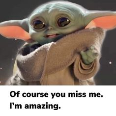 Yoda Funny, Yoda Meme, Yoda Pictures, Yoda Images, Intj Humor, Cute Disney Drawings, Star Wars Poster, Hilarious, Funny Shit