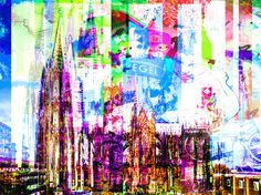 "Something new from the city of COLOGNE, Germany!! ""KÖLN KONFUS"" is available as canvas- and/or Aluminum-Acrylic-print...both look fantastic...and both are available in different, individual sizes!! Check it out on my webiste!!"