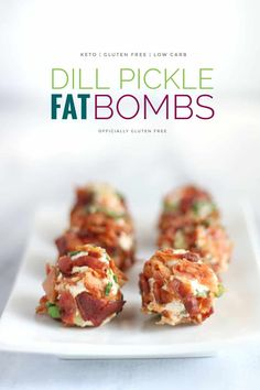 Nutritious Snack Tips For Equally Young Ones And Adults Keto Bacon Dill Pickle Fat Bombs Savory Bacon Pickle Fat Bomb Recipe Fat Bombs Savory, Receitas Crockpot, Bacon, After Workout Snack, Cetogenic Diet, Egg Diet, Paleo Diet, Keto Chocolate Fat Bomb, Chocolate Recipes