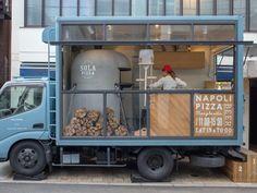 Pizza Food Truck, Coffee Food Truck, Best Food Trucks, Mobile Food Cart, Mobile Food Trucks, Food Truck Design, Food Design, Foodtrucks Ideas, Mobile Coffee Shop