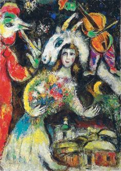 poboh:    L'hiver, Marc Chagall. (1887 - 1985)