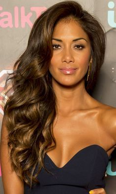 Nicole Scherzinger's Ultra-Volume Waves Make A Glam Statement, 2013 ~ http://www.look.co.uk/pictures/long-hairstyles-celebrity-styles-we-love/nicole-scherzingers-ultra-volume-waves-make-a-glam-statement-2013