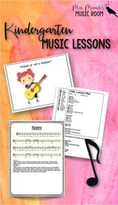 Kindergarten music lesson plans: Looking for lessons for your elementary music…