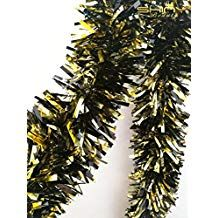ShinyBeauty long-Gold&Black for Children's Party Balcony Design, Childrens Party, Mardi Gras, Black Gold, Garland, Metallic, Decoration, Carnival, Decor