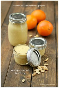 The Eat to Live Cookbook: Orange Peanut Dressing