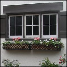 Shop Wrought Iron Planter Boxes in varied styles plus options for metal window box liners. Metal window flower boxes are a charming way to bring plant life to your home's exterior. Wrought Iron Window Boxes, Metal Window Boxes, Window Box Flowers, Flower Boxes, Window Planter Boxes, Planter Ideas, Iron Windows, Cottage Style Homes, Plant Shelves