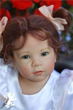 Lindner doll Reborn Toddler Dolls, Child Doll, Reborn Dolls, Reborn Babies, Doll Toys, Barbie Dolls, Annette Himstedt, Gotz Dolls, Realistic Dolls
